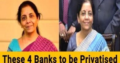 Names of 4 public sector banks to be Privatized